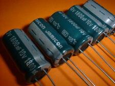 10x Elko Condensatore Radial 1800µf 25v 105 ° C; EEUFR 1e182x; 1800uf