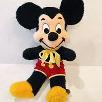 """Vintage Mickey Mouse Plush Walt Disney Character 16""""  By California Stuffed Toy"""