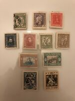 Ukraine - Soviet Union - Early Estate Old Collection Lot Set Of 11 Stamps
