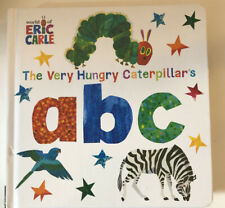 The World of Eric Carle: The Very Hungry Caterpillar's abc board book New/Sealed