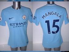 2292df931 Manchester City Mangala Nike Player Issue Match Football Shirt L Aeroswift  Home