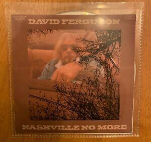 David Ferguson - Nashville No More - Unplayed NEW UK 10 Track PROMO CD 2021