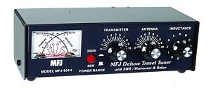 MFJ-904H - Travel Tuner 10-80M, 150W,meter,balun