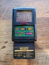 Vintage Caesars Palace Slots Tiger Electronics Lcd Handheld Game 1993 Works