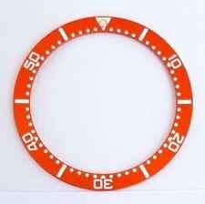 Orange Bezel Insert to fit Seiko 6105, 6309, 7002 & SKX007, 009, 173, 001, A35..