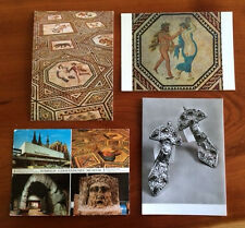 4 Vintage Postcards KOLN GERMANY Romisch-Germanisches Museum - free shipping