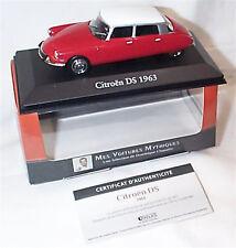 CITROEN DS MODEL CAR 1:43 SCALE 1963 IXO ATLAS 2891005 VOITURES MYTHIQUES