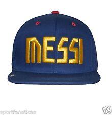 Fc Barcelona Club Snapback Adjustable Cap Hat soccer - blue -maroon new Season