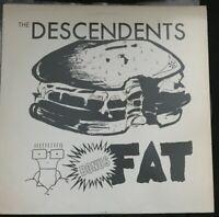 "THE DESCENDENTS: ""Bonus Fat"" LP New Alliance Records 1987 VG+/VG+ RARE PUNK"