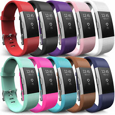 Fitbit charge 2 Straps 10pack + 2x Screen Protector + Charging Cable Size L