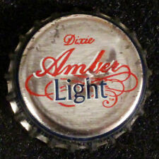 DIXIE AMBER LIGHT PLASTIC LINED BEER BOTTLE CAP NEW ORLEANS, LOUISIANA NOLA OLD+