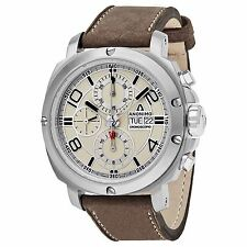 Anonimo Men's Cronoscopio Swiss Automatic Leather Strap Watch AM300001006A01