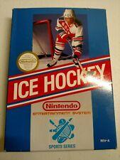 Ice Hockey Game,Nintendo NES Original Box  1988