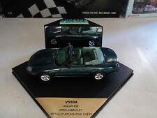 Vitesse 1/43 Jaguar XK8 Cabriolet  metallic aquamarine green