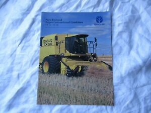 New Holland combine brochure TX660 TX68