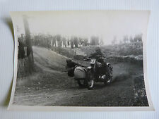 photo du MOTO CROSS side car / BSA