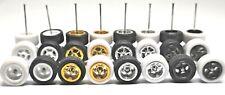 Hot Wheels 5 Spoke Rubber Tire  - 8  sets JDM (8 colors MIX) Limited Stock