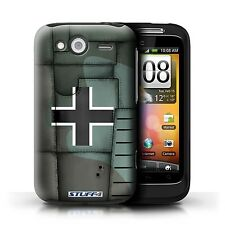 STUFF4 Case/Cover for HTC Wildfire S/G13/Airplane Fighter Wing/Germany/Green