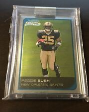 2006 Bowman Chrome Reggie Bush Uncirculated RC #196/519 Saints no auto SP RARE