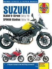 Haynes Workshop Manual Suzuki DL650 V-Strom SFV650 Gladius 2004 -2018 Service