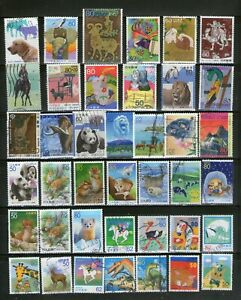 JAPAN:65 DIFF.WILD & DOMESTIC ANIMALS,LARGE COMMEMO.FU#52a*