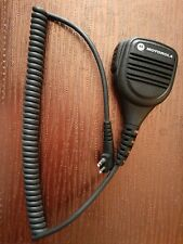 New listing Motorola Pmmn4029A remote speaker microphone mic with membrane new waterproof