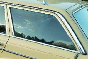 Mercedes Cargo Area Glass Left New OEM W123 Wagon 200T 230TE 240TD 280TE 300TD