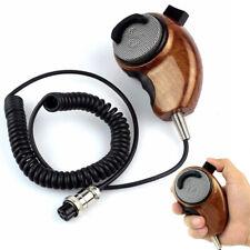 Wood Grain Noise Canceling Microphone Speaker Mic for Cobra Uniden CB-radios