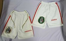 MEXICO National Soccer Size Youth 6 boys Shorts lot short pants used but nice