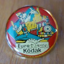 Pin's de collection : Pins EURO DISNEY RESORT - KODAK Sponsor Officiel - 1992