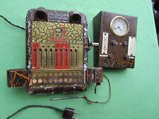 Machine à calculer électrique MASTER Belgique + Réveil Calendrier ancien bureau