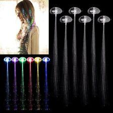 Halloween Birthday Party Club Gift Bags Fiber Optic Hair Multi Color LED Lights