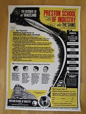 Preston School of Industry @ Graceland w The Shins | 2001 Jeff Kleinsmith poster
