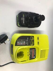Ryobi charger and battery