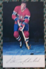 VINTAGE PETE MAHOVLICH AUTO SIGNED 3.5 x 5.5 PHOTO MONTREAL CANADIENS