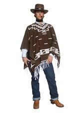Authentic Western Wandering Gunman Costume, Brown
