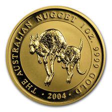 2004 Australia 1 oz Gold Nugget BU - SKU #33625