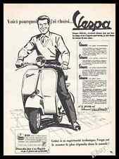 1956 Vespa  Scooter  Original Advert print ad - Z1