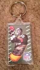 Miller Lite Beer Bottle Ad NFL Football #85 Chicago Bears Jersey Key Ring Chain