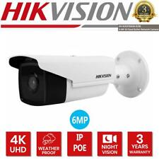 HIKVISION 6MP 4K Camera IP PoE Bullet IP67 4mm 50M IR H265 WDR DS-2CD2T63G0-I5