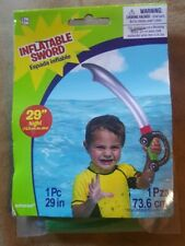 "29"" Inflatable Pirate Sword -New/Sealed"
