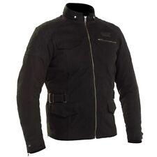 Richa Galvestone Long Jacket Black Textile Waterproof Motorcycle Jacket NEW
