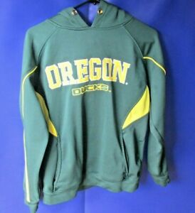 Colosseum Oregon Ducks College Mens Athletic Hoodie Size Small Green