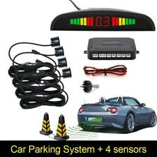 4 Parking Car Reverse Parking Sensor Rear Reversing Radar Backup Sensors Buzzer