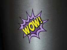 1 x adhesivo Wow! Bang Boom Pang hechizo cómic sticker tuning decal Fun gag