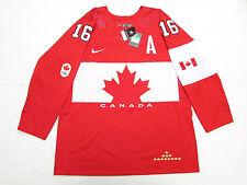 JONATHAN TOEWS TEAM CANADA RED SOCHI 2014 OLYMPICS NIKE HOCKEY JERSEY