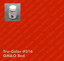 316 Tru-Color Paint GM&O Red