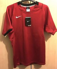 Mens Red Nike Rugby Dri-Fit Top Size Small - BNWT