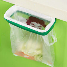 Kitchen Tool Cabinet Door Garbage Rubbish Storage Plastic Bag Bracket Holder Hot