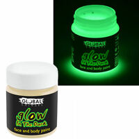 Global Glow in the Dark Theatrical Special FX Makeup Face & Body  Halloween 45ml